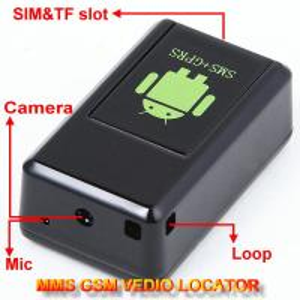 China GF-08 GSM MMS Video Photo Transmit Camera Recorder GPS Tracker Aduio Listening Bug 3-in-1 wholesale