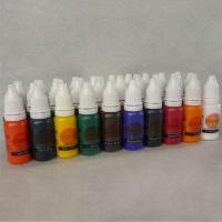 China Tattoo Supply Ink Pigment Complete Set 40color 10ml for tattoo kit supplies wholesale