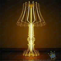 China CH (5) clear Acrylic candle holder wholesale