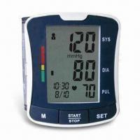 China Digital Blood Pressure Monitor with Fully Automatic and Wrist Type, Convenient for Travel wholesale