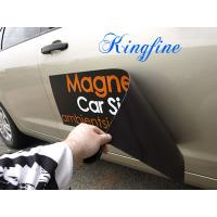 China Waterproof Custom Magnetic Car Stickers , Pvc Vinyl Sticker For Fridge Window 1.5m Max wholesale