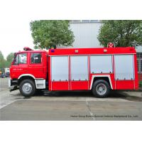 China Fire Fighting Vehicles For Emergency Fire Rescue , Fire Service Truck Dongfeng wholesale