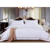 China Non - pilling Home & Hotel Bed Linen WITH Embroidery Pattern Customize Size wholesale