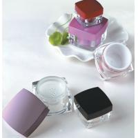 China sifter jar,packaging for cosmetic power,square jar with sifter,plastic square jar on sale