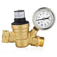 Buy cheap Air Separation Plant Oxygen Plant Water Adjustable Brass Pressure Adjust Valve from wholesalers