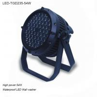 China 54W round Outdoor waterproof IP65 high quality LED Wall washer light for hotel wholesale