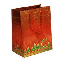 China Custom Made Christmas Personalized Paper Gift Bag Printed, goodie bag for promotional wholesale