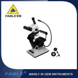 China 360 degrees Gemology Microscope classical base Swing arm type wholesale