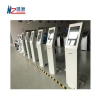 China White Coated Ticket Vending Kiosk 19  Screen With Dual Amplified Speakers on sale
