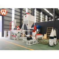 China 1T/H MCC Control Poultry Feed Processing Plant Commercial Feed Mill Equipment With Screw Conveyor wholesale