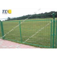 China Recyclable Welded Wire Mesh Fence Hot Dipped Galvanized Salt Spray Resistance on sale