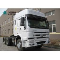 Buy cheap White SINOTRUK 371HP Prime Mover Truck 10 Tyre Howo Tractor Head Truck from wholesalers