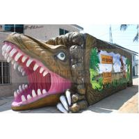 China 5D cinema movie dinosaur box , 5D Movie Theater with specail design wholesale