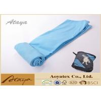 China 50 X 70CM 100% Polyester Fleece Microfiber dusting cloths Solid Color Quick Dry wholesale