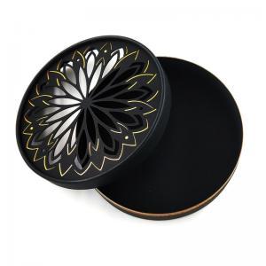 China Custom Black Hot Foil Stamping Print Water Proof Cosmetic Deodorant Paper Tube Packaging wholesale