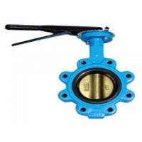 China 120 inch Flanged Butterfly Valve , DN50-3000 Stainless Steel Lug Type Butterfly Valve wholesale