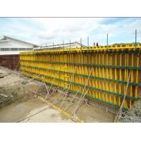 China Custom Concrete Wall Formwork With H20 Timber Beam For Building wholesale