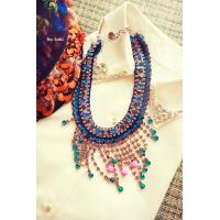 China wholesale Hot New European/Vintage Style crystal Choker Necklace Stone Water Drop Wholesale Jewelry wholesale