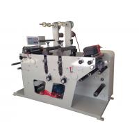 China Rotary die cutting machine max width 320mm and with slitting rewinding function or sheeting wholesale