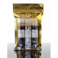 China Recycle Foil Bag Packaging , Clear Front and Back Foil Zipper Mylar Food Bags wholesale