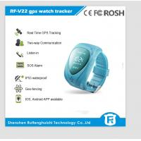 Buy cheap 2015 Children Smart watch phone RF-V22 kids tracking GPS watch with SOS Function from wholesalers