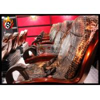 China Professional Projector 3D Cinema Systems with Large Arc Screen wholesale