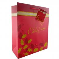 China Christmas Paper Gift Bags Most Popular in UK wholesale