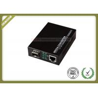 China Gigabit SFP Fiber Optic Media Converter with SC or SFP Port with 20~80km wholesale