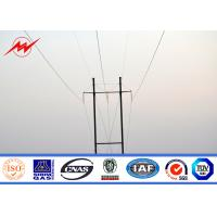 China 138kv Anti Corrosion Conical Steel Utility Pole For Power Transmission wholesale