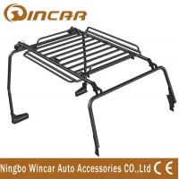 China 4 / 2 Door Car Roof Racks 2350 * 1350 * 150 Black Color Without Ladders wholesale