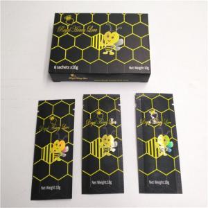 Quality Logo Custom Hologram Laser Bag Malaysia Vip Royal Honey Sachet Royal King Honey for sale