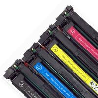 Quality 202A CF500A Printer Toner Cartridge Compatible For HP Color Lasejet Pro M254 for sale