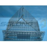China Warehouse Industrial Metal Box Pallet Storage Wire Steel Stackable Cages wholesale