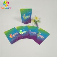 China Cookie Foil Pouch Packaging Custom Printed Plastic Zip Lock Bags Child Proof wholesale