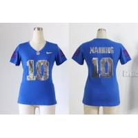 China New York Giants 10 Manning Women Handwork Sequin lettering Fashion jersey wholesale