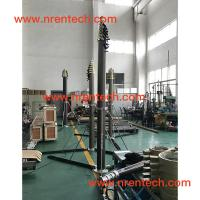 Quality 15m lockable pneumatic telescopic mast 30~400kg payloads for sale
