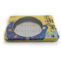 Quality Custom printed window tea tin box for sale