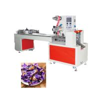 China Flow Wrapper Candy Packing Machine With Double Frequency Inverter Auto Tracking wholesale
