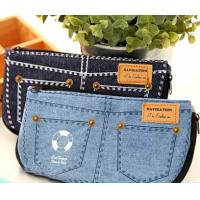 China Jean Style Pen Pencil Cosmetic Storage Pouch Bag Case promotion gift wholesale