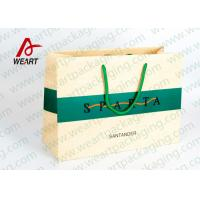 China Modern Monogrammed Gift Bags Paper Material , Colored Printed Retail Bags wholesale