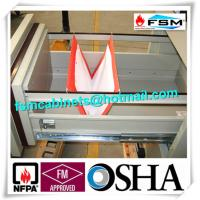 China Locking File Cabinets 3 Drawer Vertical Lockable Storage Cabinets For Office / Hotel wholesale