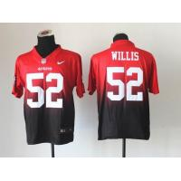 China Nike NFL San Francisco 49ers 52 Willis Drift Fashion II Elite Jersey wholesale