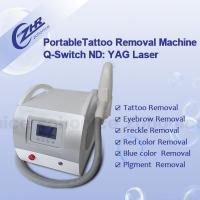 2000 Mj Q Switched Nd Yag Laser Tattoo Removal Machine Professional Beauty