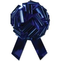 Blue PP Gift Pull Bow in Solid material for gift decoration and celebration