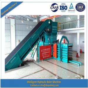 China Automatic hydraulic baler scrap paper baling press machine wholesale