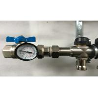 China Manual tempertyre control House Water Manifold stainless steel 304 2 to 13 ports wholesale