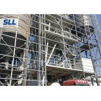 China Tower Type Full Automatic Dry Mix Mortar Production Line Carbon Steel Material wholesale