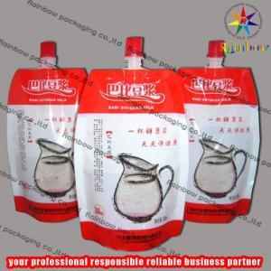 China Aluminum Foil Spout Pouch Packaging , Soybean Bag wholesale