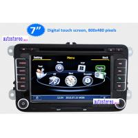 Three Zone Car Stereo Sat Nav Radio for VW Golf Jetta Touran Polo Passat B6 with Phonebook
