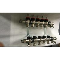 China House  Stainless Steel Water Manifold Sliver Color 5 Loop Radiant wholesale